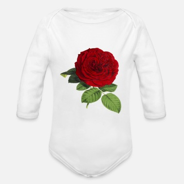 Blume Rose Blume - Organic Long Sleeve Baby Bodysuit