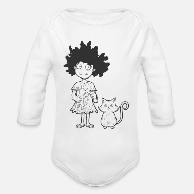 Apprentice Witch's Apprentice - Organic Long-Sleeved Baby Bodysuit