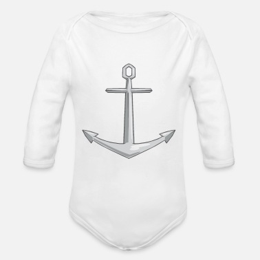 Anchor Anchor - Organic Long Sleeve Baby Bodysuit