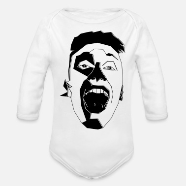 Laughter Laughter - Organic Long-Sleeved Baby Bodysuit