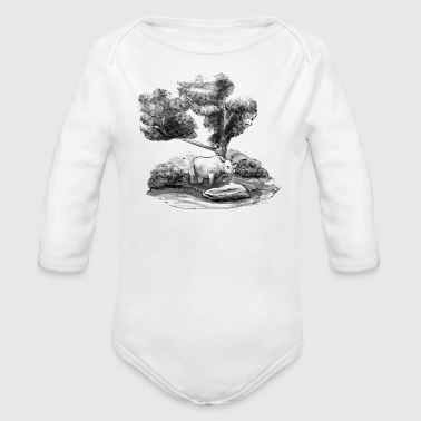 Rhino's Sanctuary - Organic Long Sleeve Baby Bodysuit