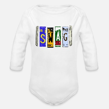 Swag SWAG - Organic Long-Sleeved Baby Bodysuit