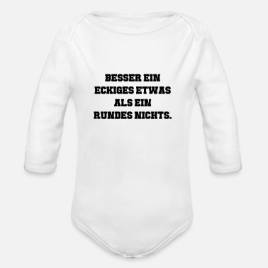 Something Something - Organic Long-Sleeved Baby Bodysuit