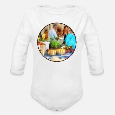 Farmer Market At the Farmer's Market - Organic Long-Sleeved Baby Bodysuit