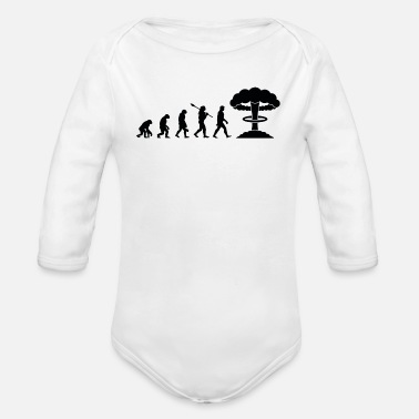 Nuclear Evolution of Nuclear - Organic Long-Sleeved Baby Bodysuit