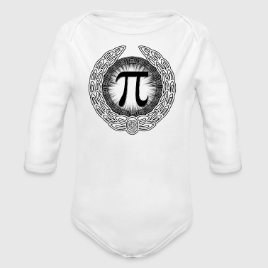 PI Emblem - Long Sleeve Baby Bodysuit