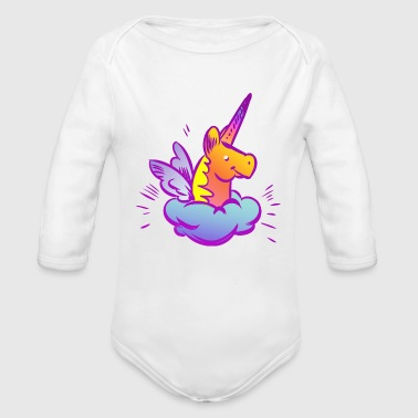 Sweet Unicorn - Organic Long Sleeve Baby Bodysuit