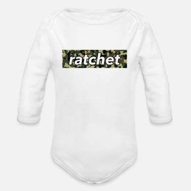 Ratchet Ratchet - Organic Long Sleeve Baby Bodysuit