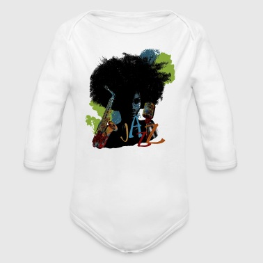 Jazz - Organic Long Sleeve Baby Bodysuit