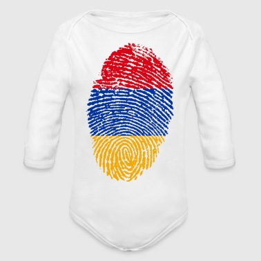 armenia - Organic Long Sleeve Baby Bodysuit