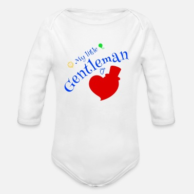Gentleman Gentleman - Organic Long-Sleeved Baby Bodysuit