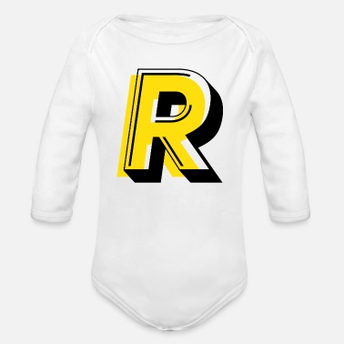 Referee - Organic Long-Sleeved Baby Bodysuit