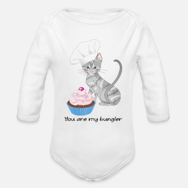 Pastry Chef pastry chef - Organic Long Sleeve Baby Bodysuit