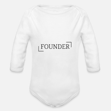 Founder Founder - Organic Long-Sleeved Baby Bodysuit