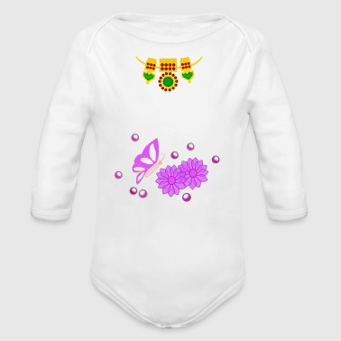 Special Day - Organic Long Sleeve Baby Bodysuit