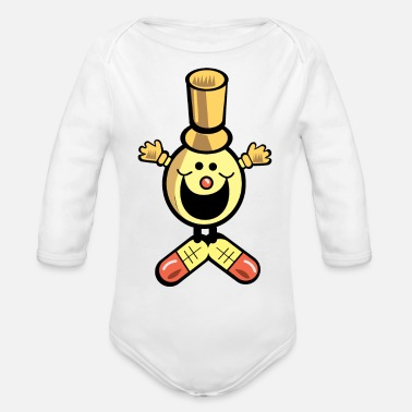 Toy toy - Organic Long-Sleeved Baby Bodysuit