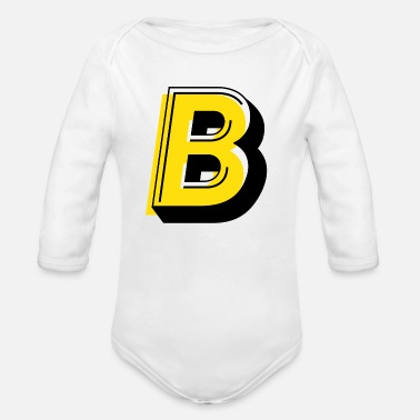 Backjudge - Organic Long-Sleeved Baby Bodysuit