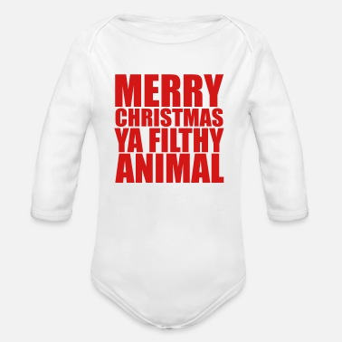 8dabb4559 Merry Christmas Merry Christmas - Organic Long-Sleeved Baby Bodysuit