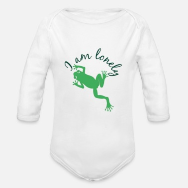 Lonely Lonely - Organic Long-Sleeved Baby Bodysuit