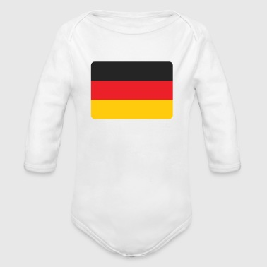 DEUTSCHLAND - GERMANY - Organic Long Sleeve Baby Bodysuit