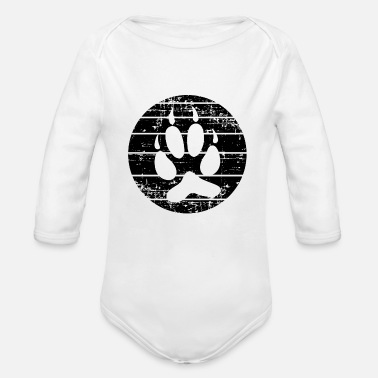 Paw Paw - Organic Long-Sleeved Baby Bodysuit