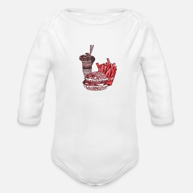 Meal Meal - Organic Long Sleeve Baby Bodysuit