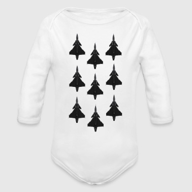 Jet - Organic Long Sleeve Baby Bodysuit
