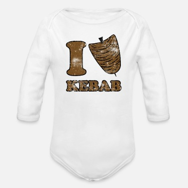 Kebab Kebab - Organic Long-Sleeved Baby Bodysuit
