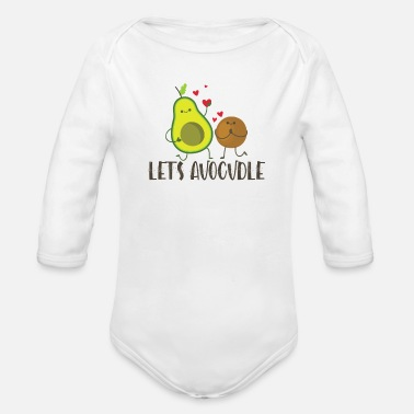 Avocadobread Let's Avocudle - Organic Long-Sleeved Baby Bodysuit