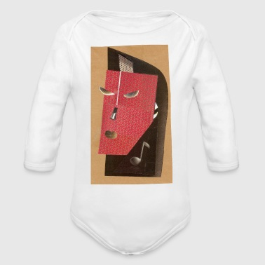 Rock Face rock it - Organic Long Sleeve Baby Bodysuit