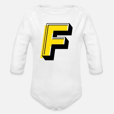 Fieldjudge - Organic Long-Sleeved Baby Bodysuit