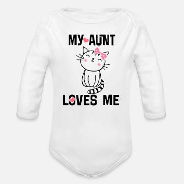 "Aunt Baby Clothes /""I Love My Aunty This Much/"" Baby Romper Suit Niece Nephew Gift"