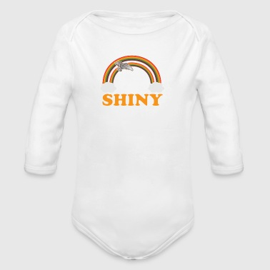 Shiny - Organic Long Sleeve Baby Bodysuit
