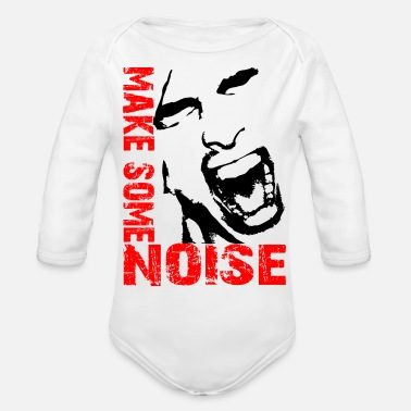 Noise Make some noise / Noise - Organic Long-Sleeved Baby Bodysuit