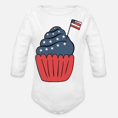 Used US - Organic Long Sleeve Baby Bodysuit