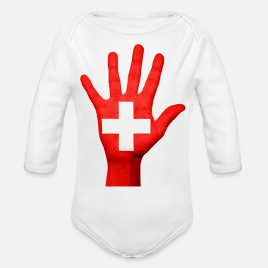 Switzerland switzerland - Organic Long Sleeve Baby Bodysuit