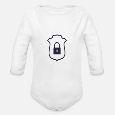 Security Icon - Organic Long-Sleeved Baby Bodysuit
