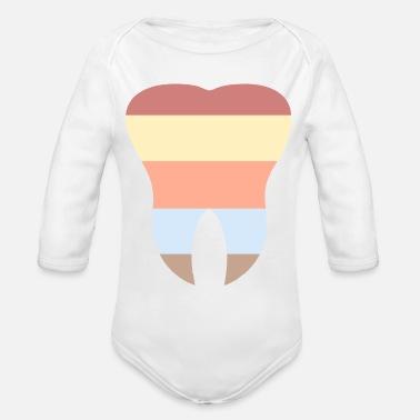 Tooth The Tooth - Organic Long-Sleeved Baby Bodysuit