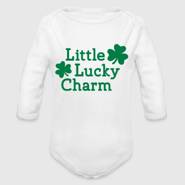 Little Lucky charm - Organic Long Sleeve Baby Bodysuit