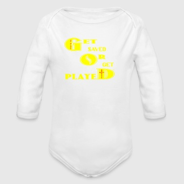 SAVED - Organic Long Sleeve Baby Bodysuit