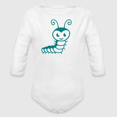 Caterpillar Caterpillar - Organic Long Sleeve Baby Bodysuit