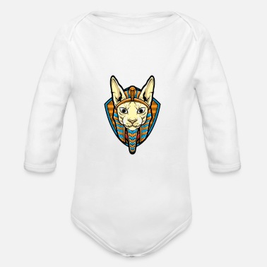 Sphinx Sphinx Anubis - Organic Long-Sleeved Baby Bodysuit