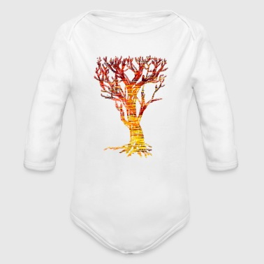 The Tree of Trees - Organic Long Sleeve Baby Bodysuit