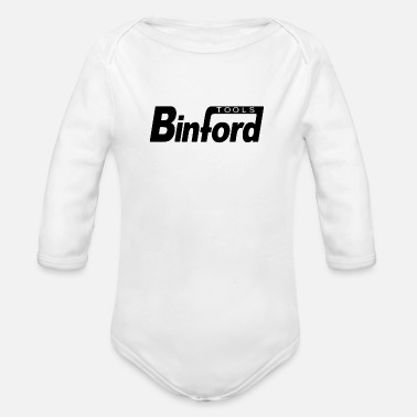 Tools Tool Band - Organic Long-Sleeved Baby Bodysuit