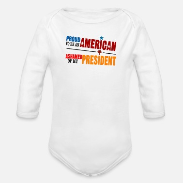 Proud PROUD TO BE - Organic Long Sleeve Baby Bodysuit