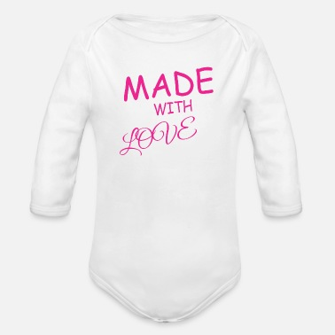 Creation creation - Organic Long-Sleeved Baby Bodysuit