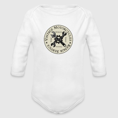 Repair Service - Organic Long Sleeve Baby Bodysuit