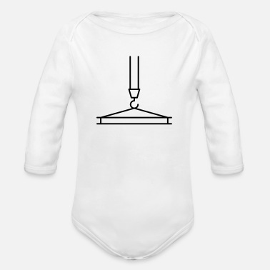 Transport transport - Organic Long-Sleeved Baby Bodysuit