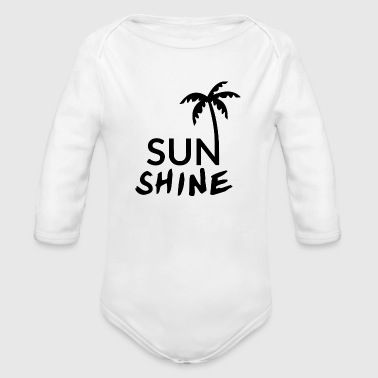 SUNSHINE - Organic Long Sleeve Baby Bodysuit