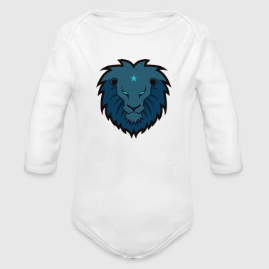 Lion - Organic Long Sleeve Baby Bodysuit